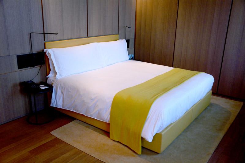 Our Mansard Deluxe bedroom at Hotel Café Royal