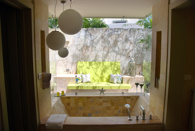 Our bath at Eden Roc at Cap Cana