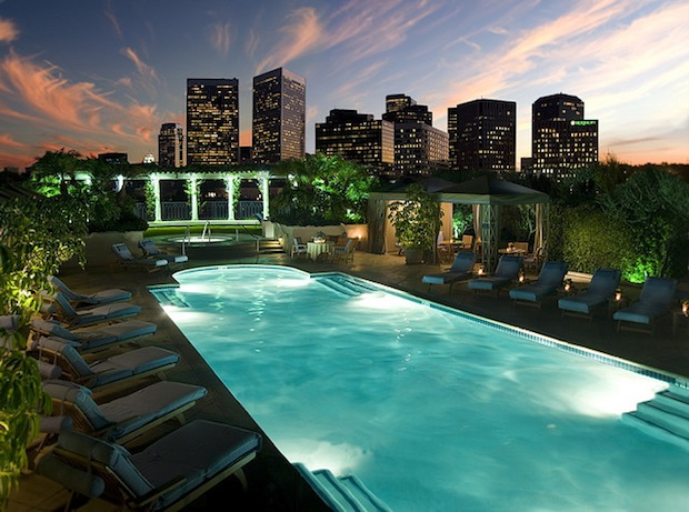 Luxury travel news march 22 2013 - Beverly hills public swimming pool ...
