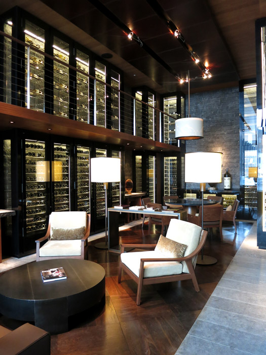 The Wine and Cigar Library at The Chedi