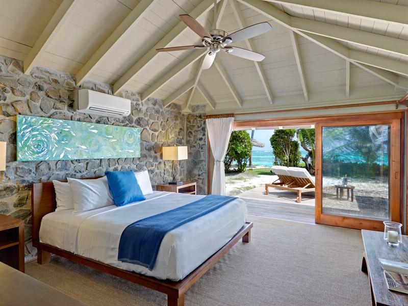 Bedroom at Petit St. Vincent