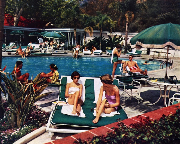 Vintage Photographs From The Hotel Bel Air Los Angeles