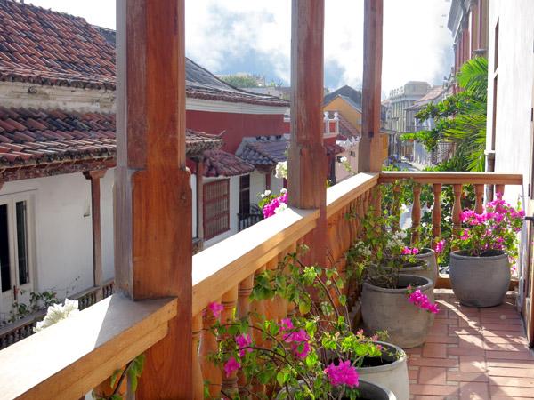 Our balcony, Casa San Agustin