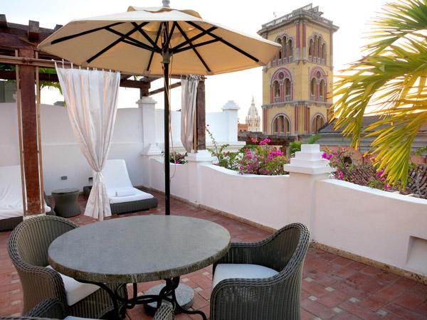 Roof terrace, Casa San Agustin