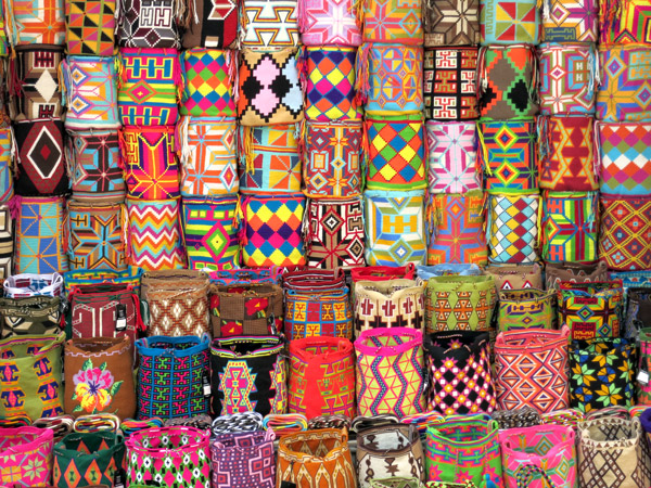 Shoulder bags for sale on Calle San Juan de Dios - Photo by Andrew Harper