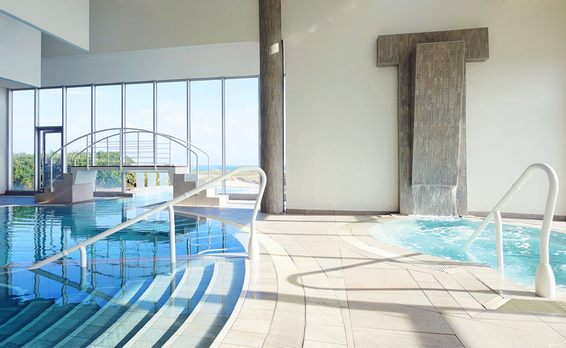 Attractive Indoor Saltwater Pool At Sofitel Quiberon Thalassa   © Sofitel Luxury Hotels/Eric  Cuvillier