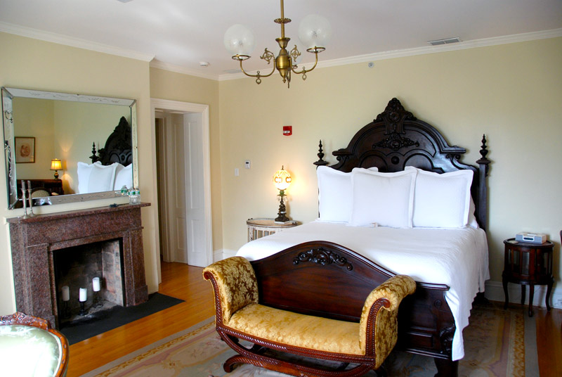 Our bedroom at Mount Merino Manor