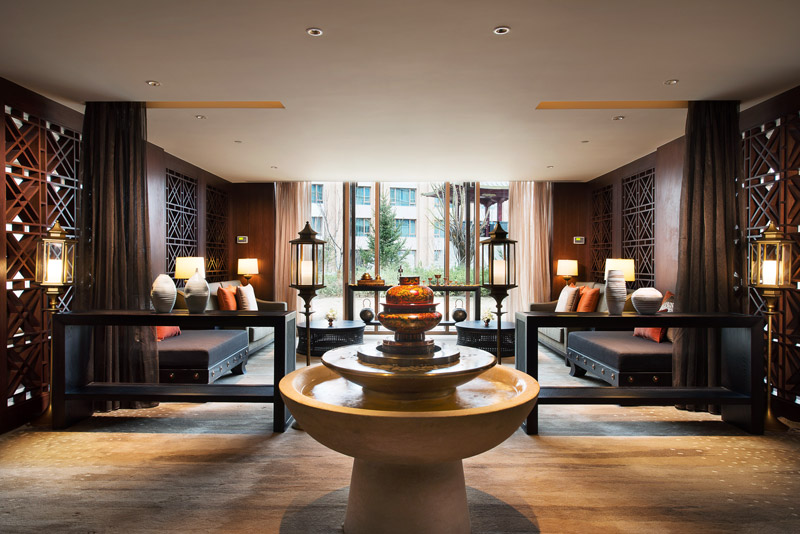 Oxygen lounge at the Shangri-La Hotel, Lhasa - © Shangri-La Hotels & Resorts