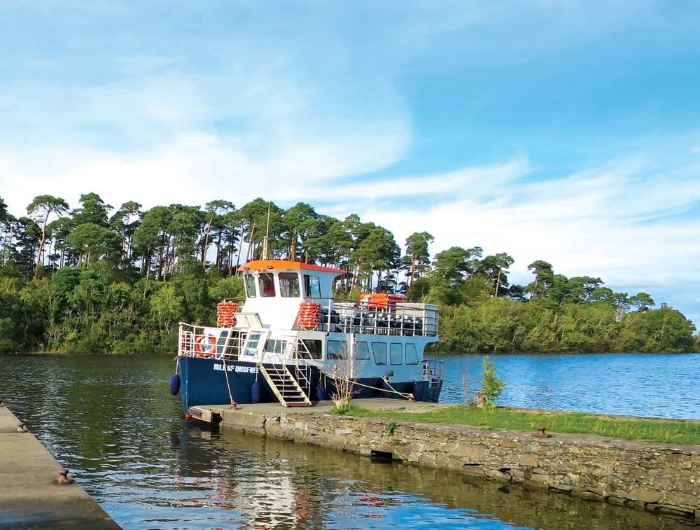 View of the <em>Isle of Inisfree</em> on Lough Corrib - Photo by Andrew Harper