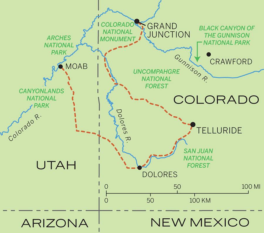 Rockies Map