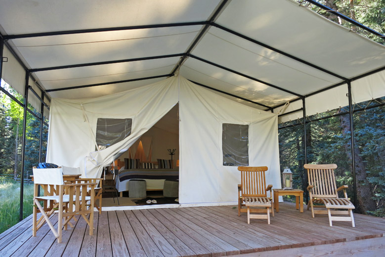 Watercolor inn luxury hotel in gulf coast florida for Build your own canvas tent