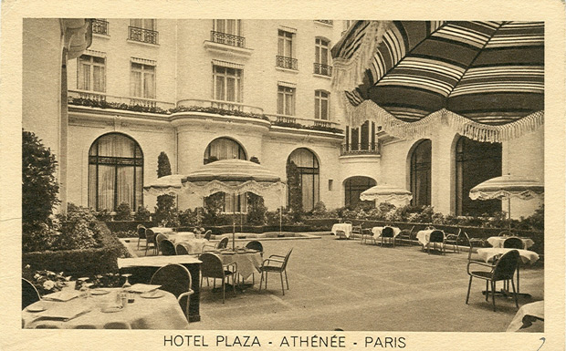 Vintage Photographs From H Tel Plaza Ath N E Paris