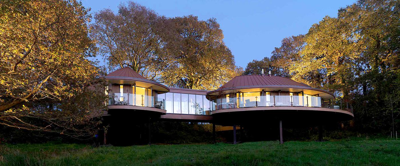 Luxury Treehouses At Chewton Glen Hampshire