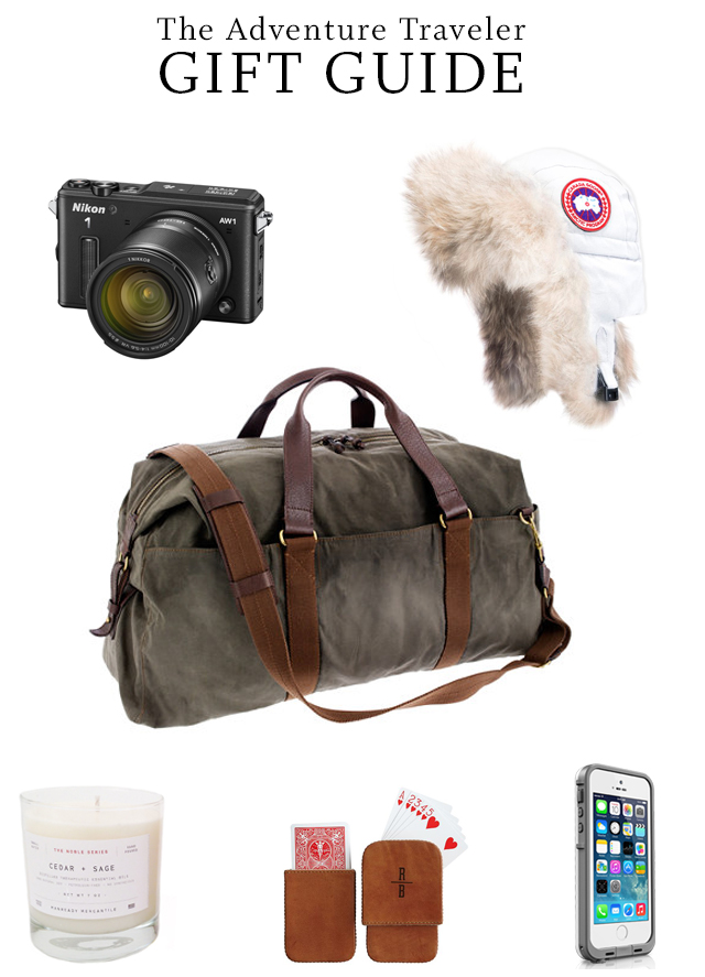 Holiday gift guide for the adventure traveler for Christmas gifts for travelers