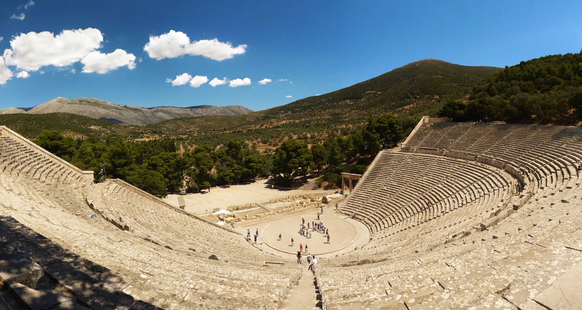 The ancient Epidaurus theater