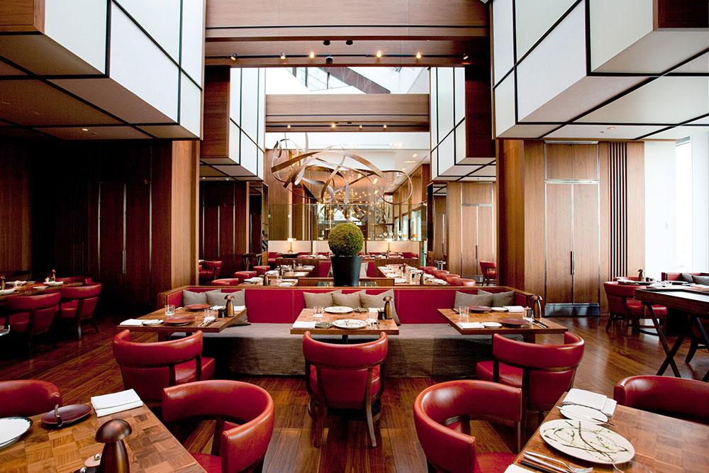 <em>Andaz Tavern</em> dining room at Andaz Tokyo Toranomon Hills