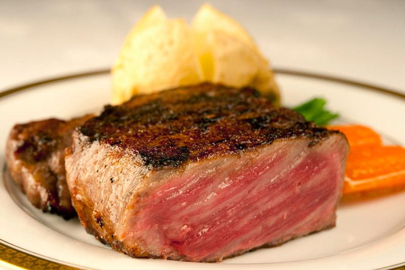 Sanda beef at Aragawa