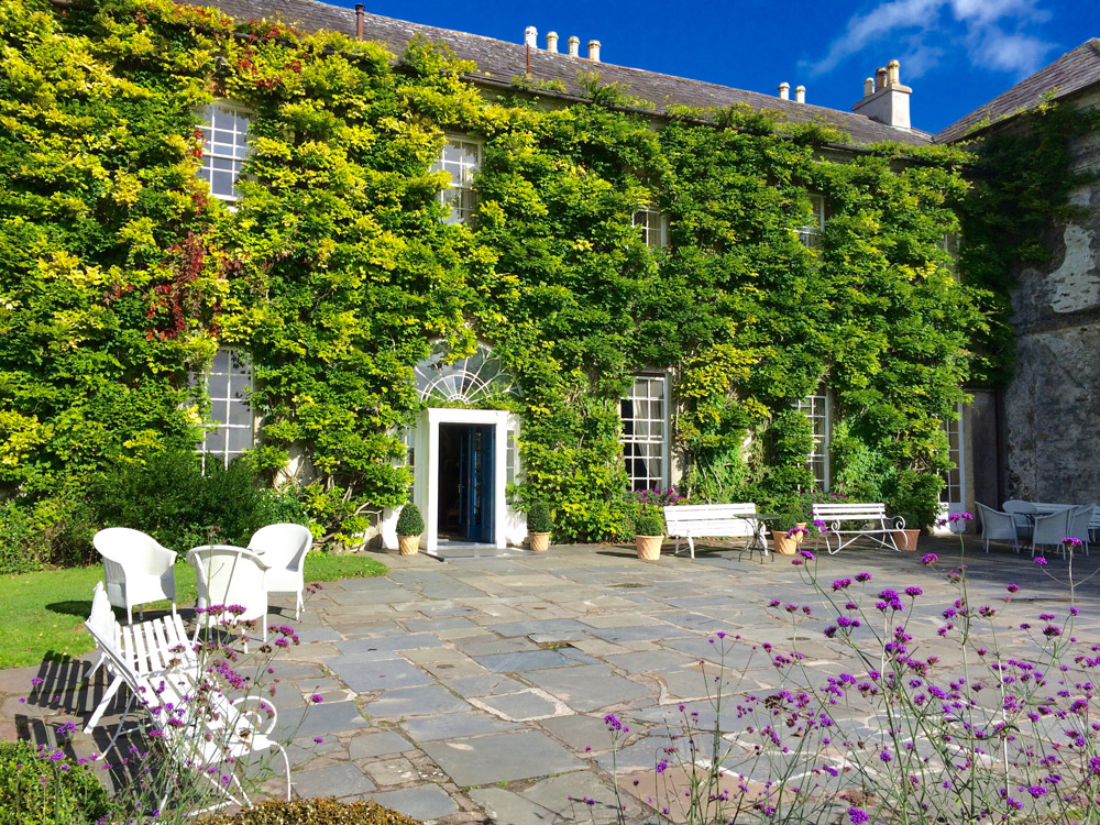 Courtyard at Ballymaloe House
