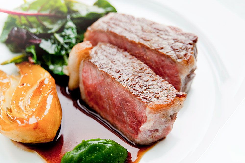 Kumamoto wagyu beef at <em>Beige Alain Ducasse</em>