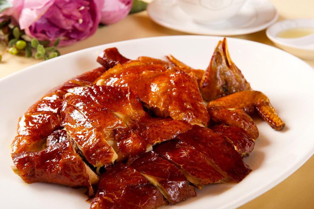 Crispy fried chicken at <em>Fook Lam Moon</em>