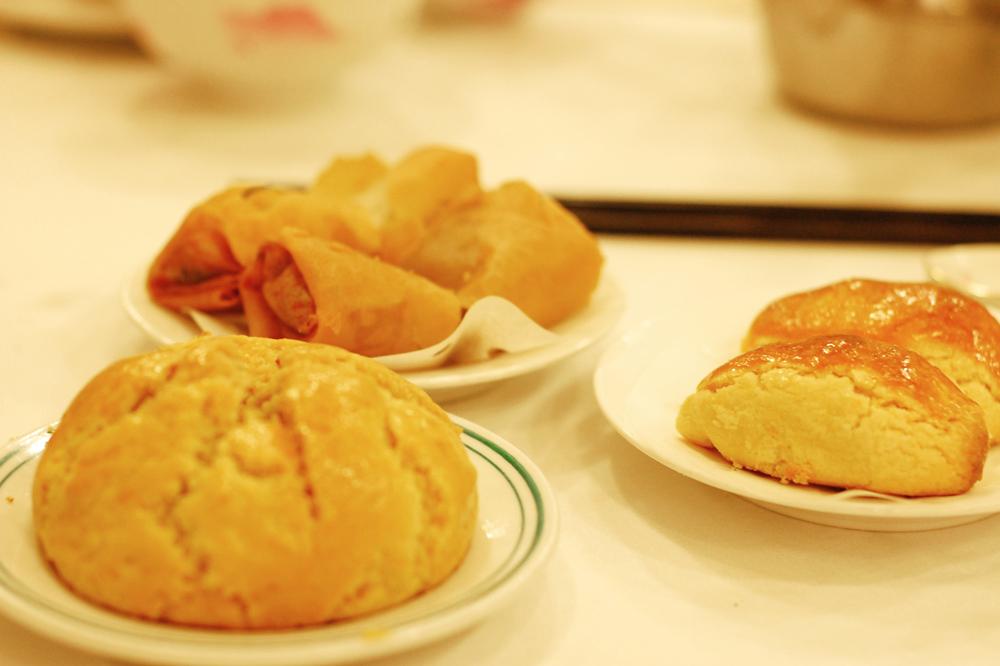 Various dim sum served at <em>Luk Yu Tea House</em>