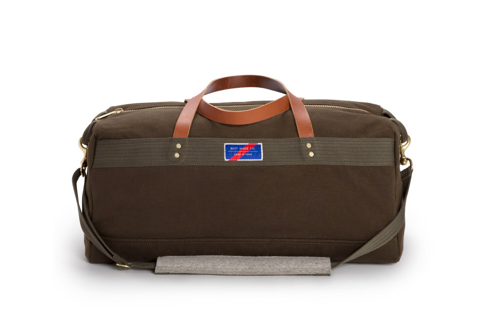 Best Made's Bonded Canvas Duffle