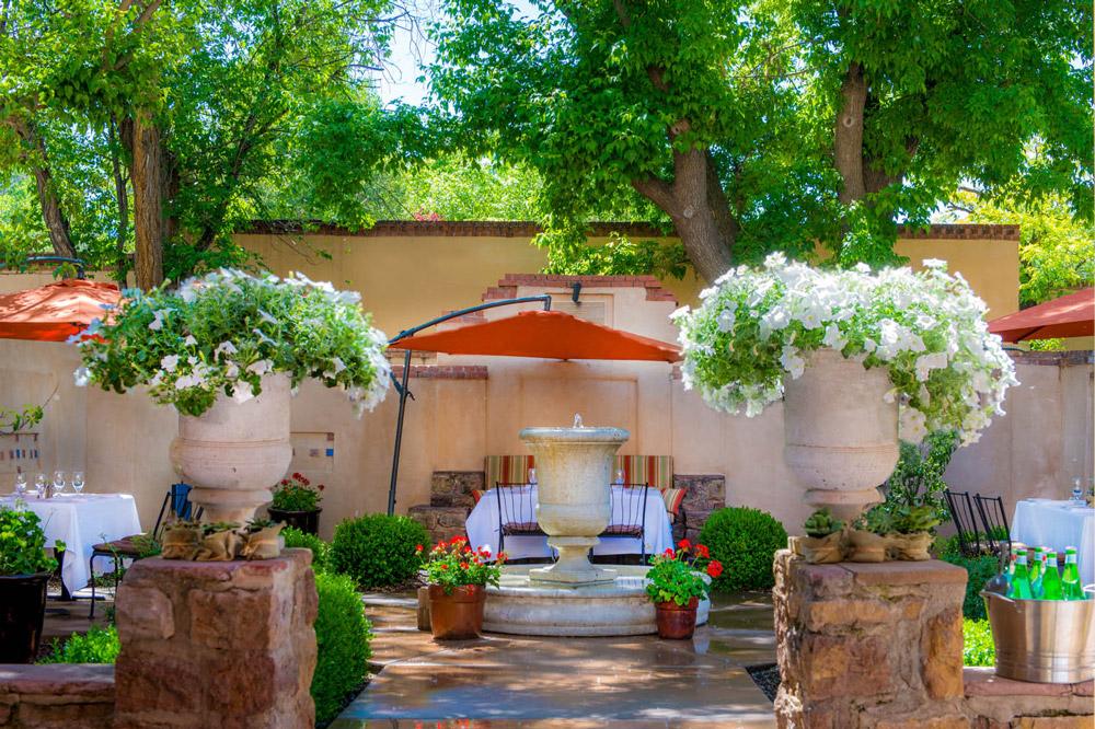 Best restaurants santa fe compound exterior