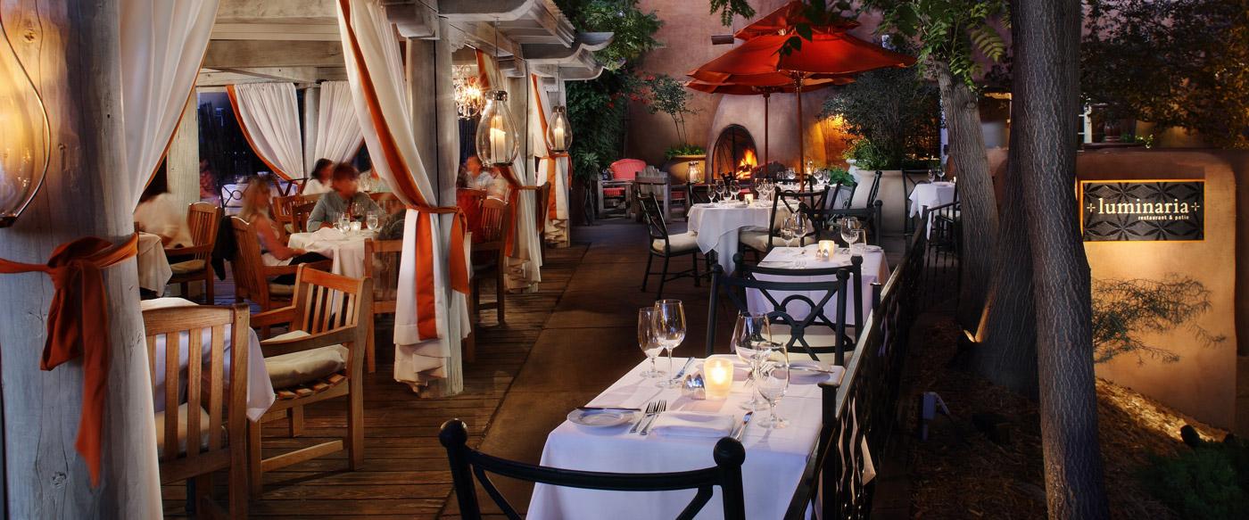 The Patio And Exterior Of Luminaria Restaurant And Patio Luminaria  Restaurant And Patio