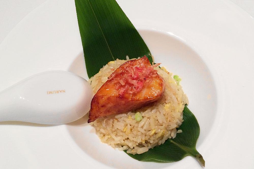 Black cod with fried rice and sakura shrimp at <em>Shang Palace</em>
