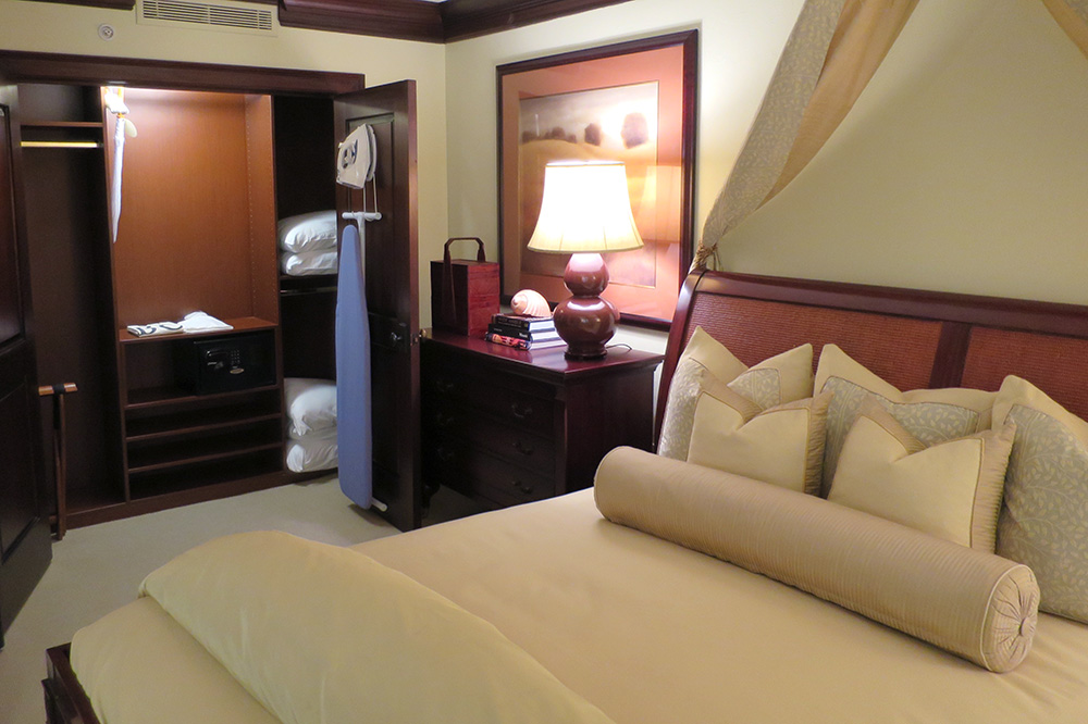 Our One-bedroom Suite with a den at the Brazilian Court Hotel