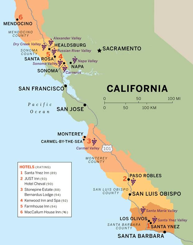 A Blissful Road Trip Through Californias Winelands