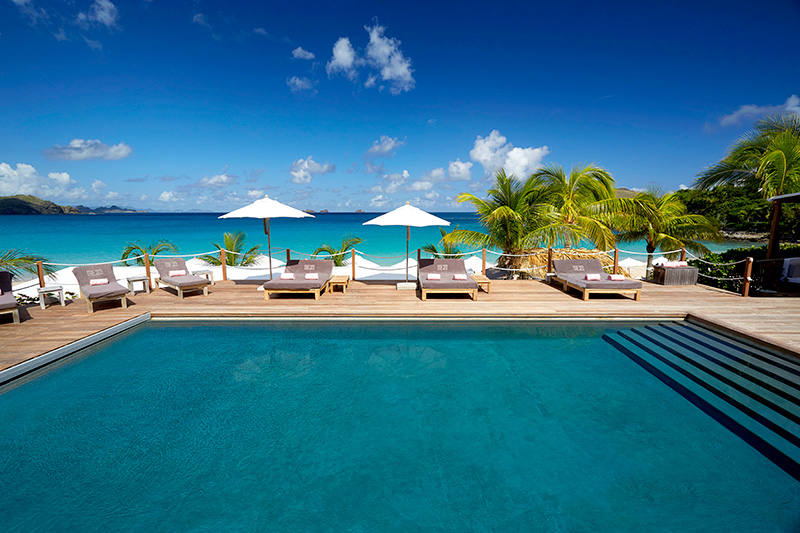 Pool at Cheval Blanc St-Barth Isle de France