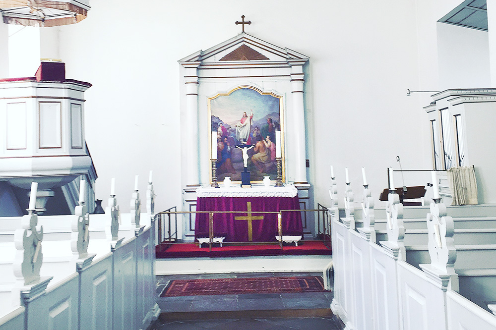 The chapel at Dragsholm Slot