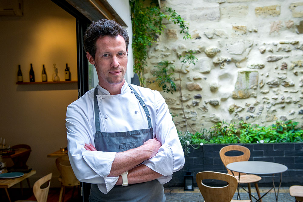 Tanguy Laviale, chef at <em>Garopapilles</em>
