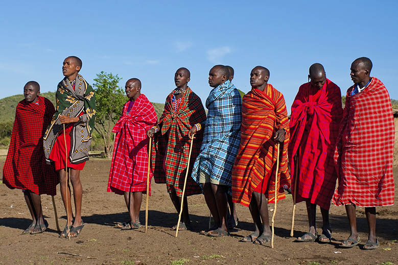 Timeless Cultural Traditions: The Maasai