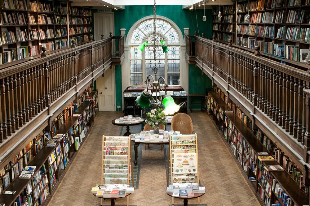 The interior of Daunt Books