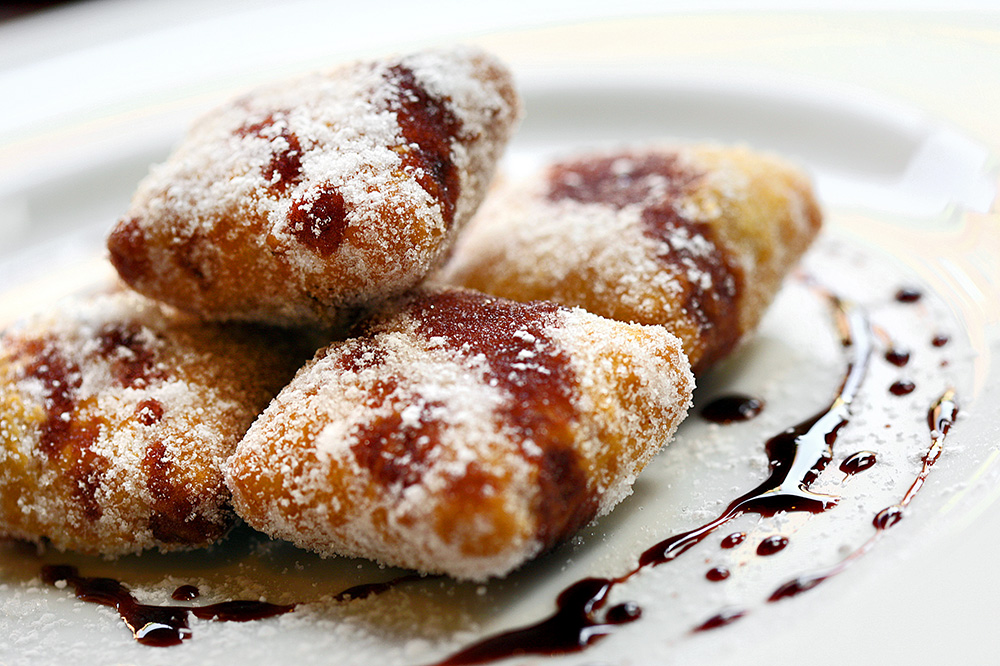 Goat-cheese-and-fig beignets from <em>Rioja</em> in Denver, Colorado