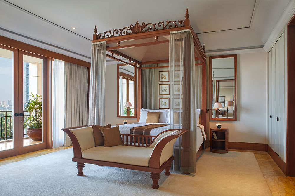 A Deluxe Suite at The Dharmawangsa Jakarta