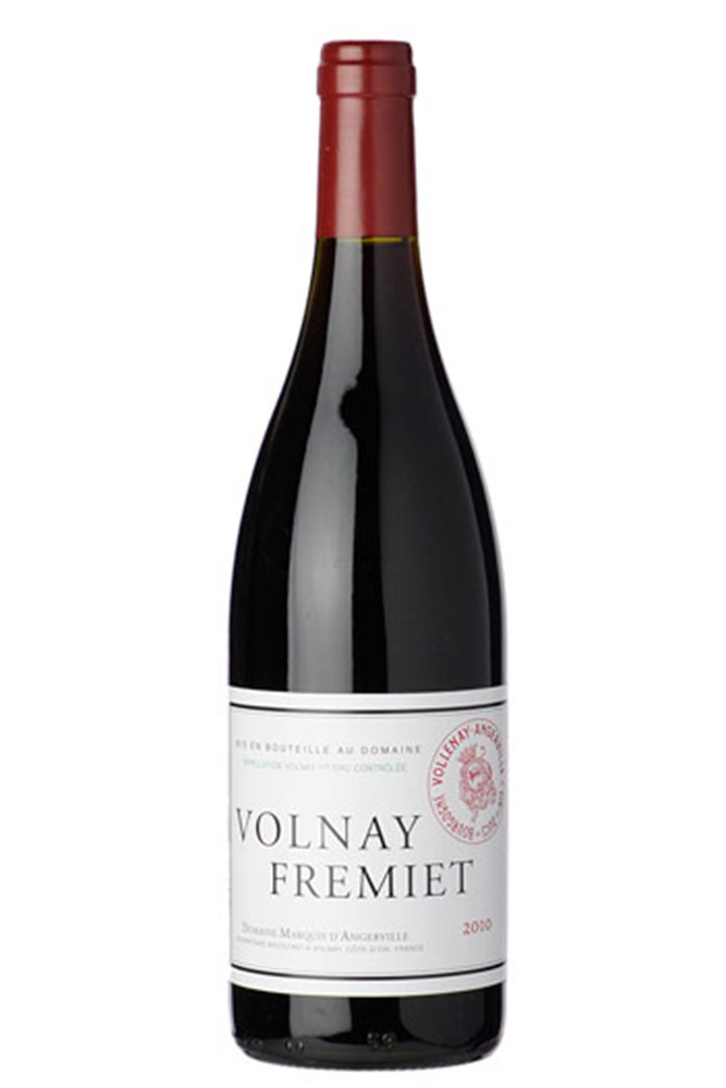 2010 Domaine Marquis d'Angerville 1er Cru Volnay Fremiet - Courtesy of K&L Wines