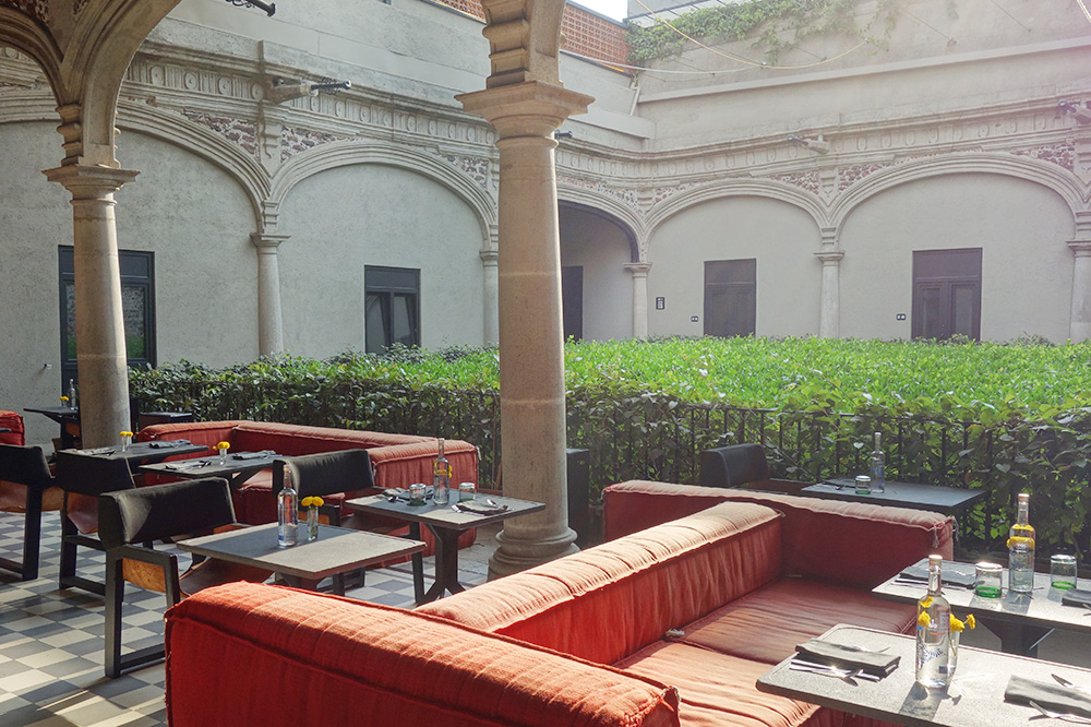 A lounge area at Downtown Mexico - Photo by Andrew Harper