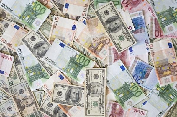 Цена евро доллар на форексе