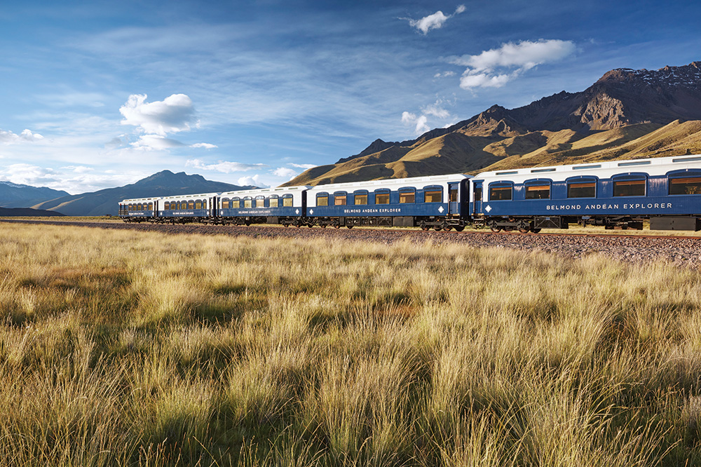 The exterior of Belmond's Andean Explorer - Richard James Taylor