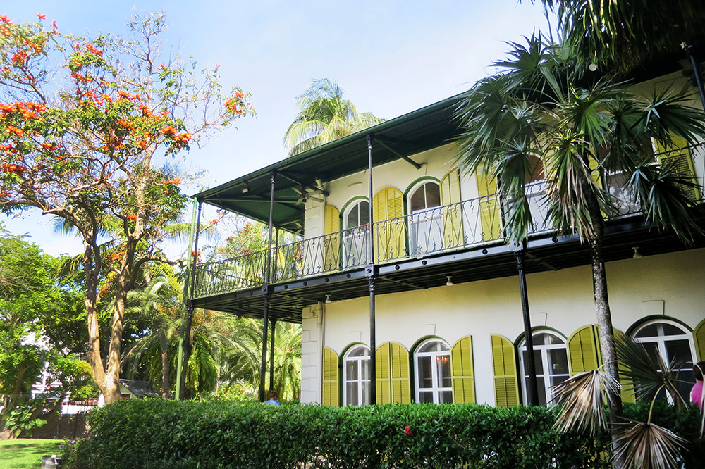 The exterior of the Hemingway Home & Museum in Key West, Florida - Photo by Andrew Harper