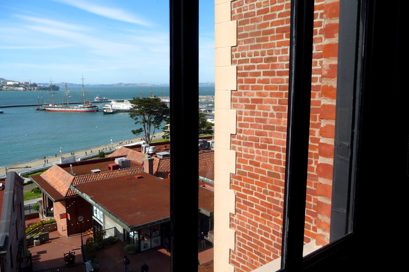 View from our One Bedroom Residence at Fairmont Heritage Place - Photo by Andrew Harper