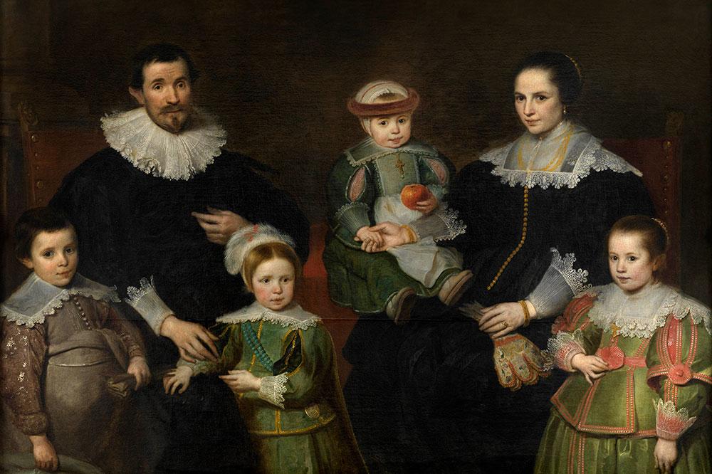 """Family Portrait,"" by Cornelis de Vos, from the Museum of Fine Arts Ghent"