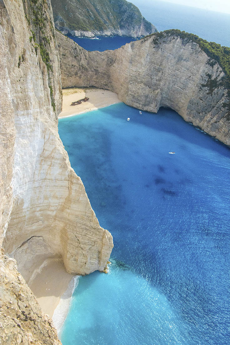 Remote beaches abound on Zakynthos and the Greek Isles.