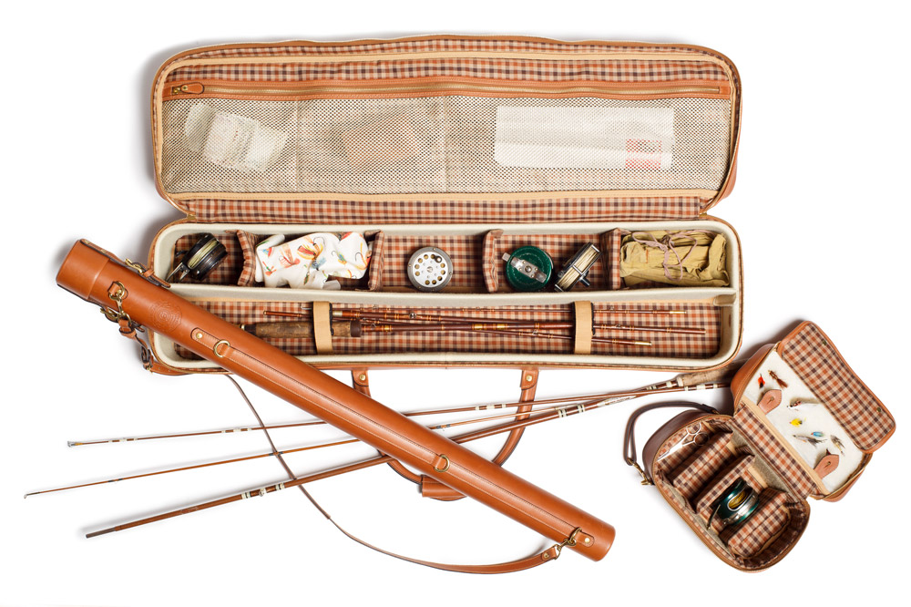 The Ghurka Fly-Fishing Double Rod and Single Rod Case