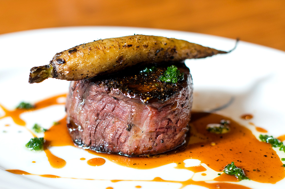 The filet mignon from <em>Guard and Grace</em> in Denver, Colorado