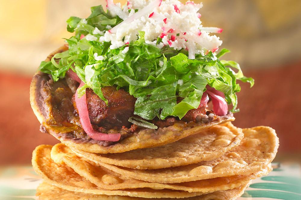 Tostadas cochinita pibil from <em>Fonda San Miguel</em>