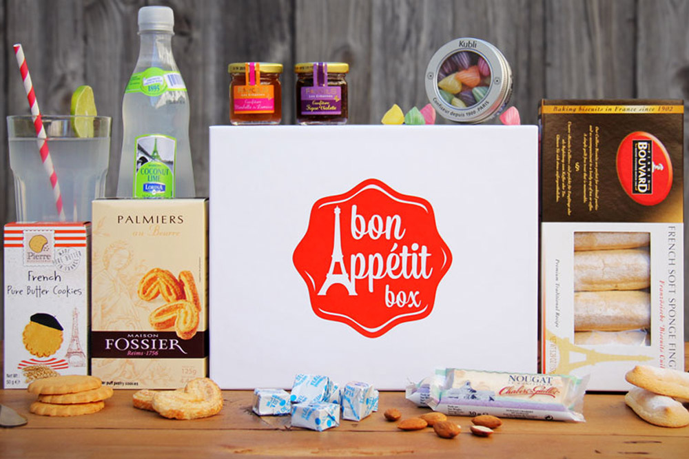 The Cafe Gourmand box from Bon Appétit Box
